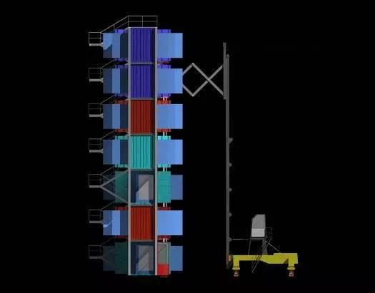 MDU建造体系以钢结构建造主体框架