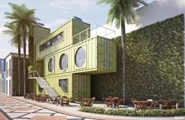 集装箱建筑组合式